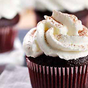 Sinful Bliss Cupcakes with Sweetened Whipped Cream Frosting